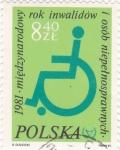 Sellos de Europa - Polonia -  dibujo inválido