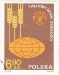 Sellos de Europa - Polonia -  F A O