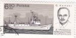 Sellos de Europa - Polonia -  navegantes -Kanski