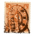 Sellos del Mundo : Europa : Alemania : Corneta de correos