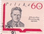 Stamps Poland -  Broniewski 1897-1962