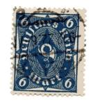 Sellos del Mundo : Europa : Alemania : Corneta de correos - Tipo I