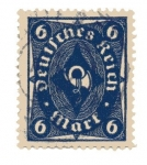 Stamps Europe - Germany -  Corneta de correos - Tipo II