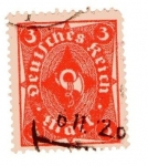 Stamps Germany -  Corneta de correos