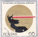 Stamps Poland -  logotipo