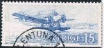 Stamps Europe - Sweden -  ANTIGUOS MODELOS DE AVIONES USADOS EN LAS LINEAS INTERNACIONALES E INTERIORES DE 1920 A 1965. Y&T Nº