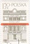 Stamps of the world : Poland :  teatro  Polskiego W  Poznaniu