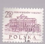 Stamps : Europe : Poland :  Varsovia,  Palacio Staszica