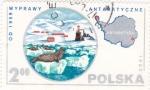 Sellos de Europa - Polonia -  Antártida