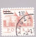 Sellos de Europa - Polonia -  Varsovia, castillo