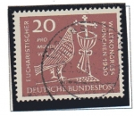 Stamps Germany -  37º congreso Eucaristico internacional en Munich