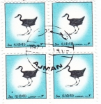 Stamps : Asia : United_Arab_Emirates :  aves -Ajman