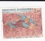 Sellos de Europa - Andorra -  Pintura pre-románica