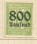 Stamps Germany -  Valor