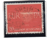 Stamps Germany -  Europa - 1960