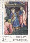 Stamps Andorra -  Nativitat-NADAL-92
