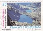 Stamps Andorra -  llacs de l'angonella