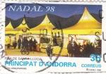 Stamps Andorra -  Fira de Santa Llucia- NADAL-98