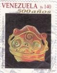 Sellos de America - Venezuela -  figura  antropoforma