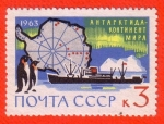 Stamps Russia -  Antartica