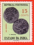 Stamps : Asia : India :  D. Sebastiao