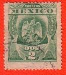 Sellos de America - México -  Escudo de Armas