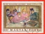 Stamps : Europe : Hungary :  H. de Toulouse- Lautrec: Ezek a Holgyek