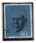 Stamps Germany -  1' Aniversario de la muerte del General Americano  George D. Marshall