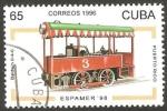 Sellos de America - Cuba -  Locomotora de Puerto Rico