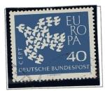 Sellos de Europa - Alemania -  Europa - 1961