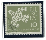 Stamps : Europe : Germany :  Europa - 1961