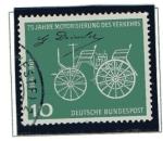 Stamps Germany -  75 aniversario del Automovil - Daimler