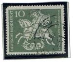 Stamps : Europe : Germany :  50 aniversario - Scouts en Alemania