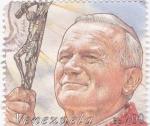 Sellos de America - Venezuela -  Juan Pablo II