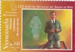 Stamps Venezuela -  132 años del Natalicio del siervo de Dios