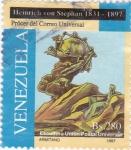 Stamps Venezuela -  escultura Unión Postal Universal