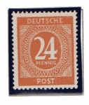 Stamps Germany -  Cifras