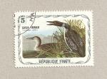 Stamps Haiti -  Gavia immer