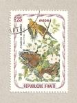 Stamps America - Haiti -  Zenaidura macroura
