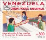 Stamps Venezuela -  125 años de la unión postal universal