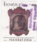 Stamps Venezuela -  Navidad-1994
