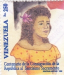 Sellos de America - Venezuela -  Centenario de la Consagración de la República al Santísimo Sacramento