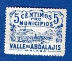Stamps Europe - Spain -  Sobretasa - Valle de Abdalajis (Málaga)