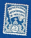 Stamps : Europe : Spain :  sobretasa - Mollina (Málaga)
