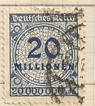 Stamps Europe - Germany -  Valor