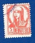 Sellos de Europa - España -  sobretasa - La Zubia (Granada)