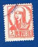 Stamps Spain -  sobretasa - La Zubia (Granada)