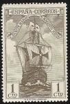 Stamps Spain -  Bow of Santa María
