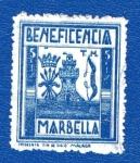 Stamps : Europe : Spain :  sobretasa - Marbella (Málaga)