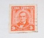 Stamps America - Cuba -  JOSE DE LA LUZ CABALLERO 1800-1862